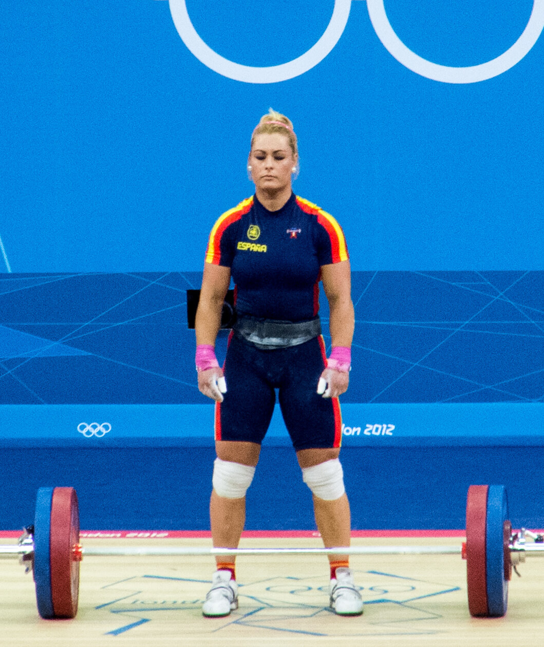 Lidia Valentin, weightlifter