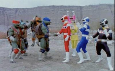 Rangers and TMNT