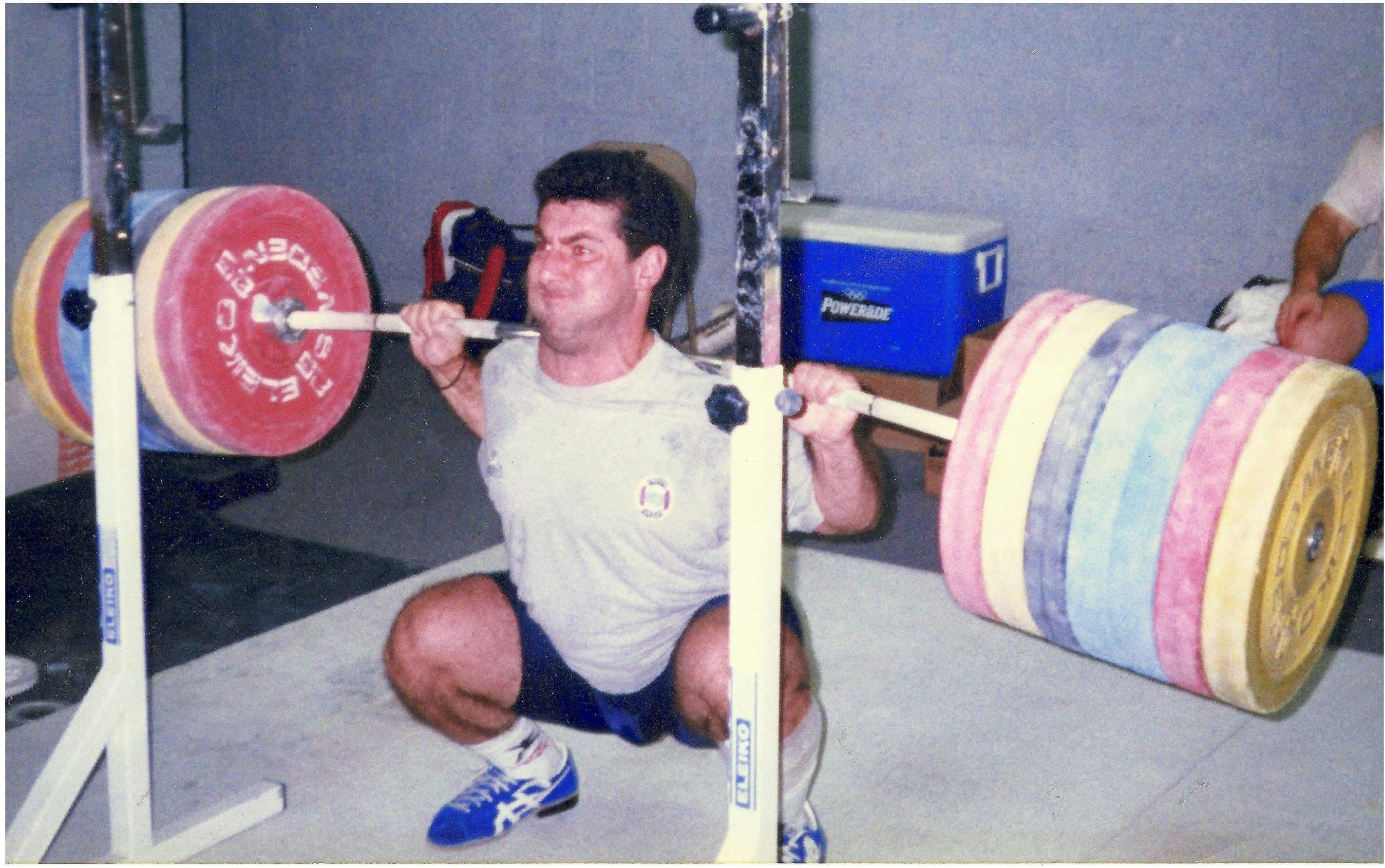 high bar squat