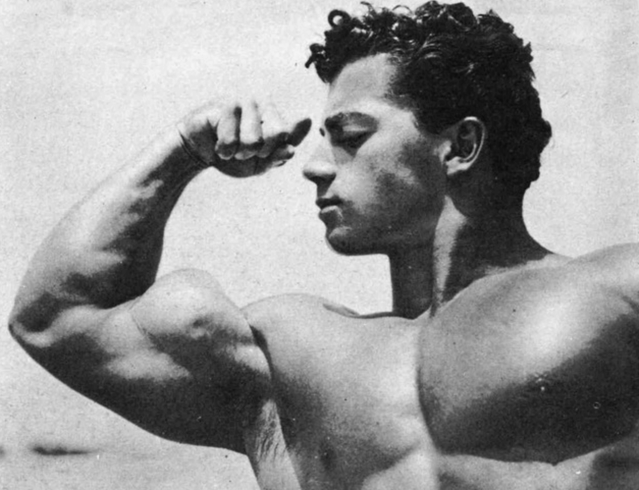 "Marvin Eder - a bodybuilder and strength athlete from the early 50s. He weighed 190lbs at 5'7,"" and benched 515lbs."