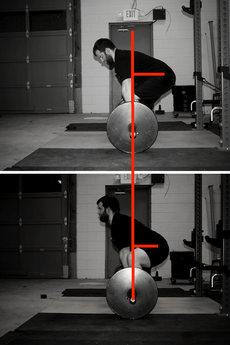 hip height conventional deadlift vs sumo deadlift