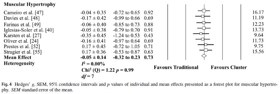 davies cluster sets hypertrophy