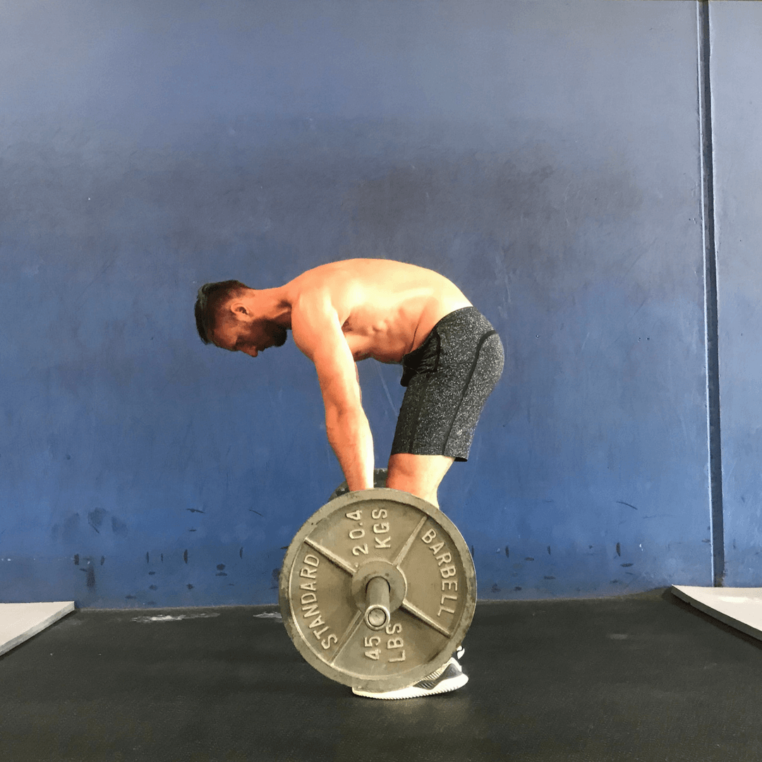 lumbar flexion in the deadlift