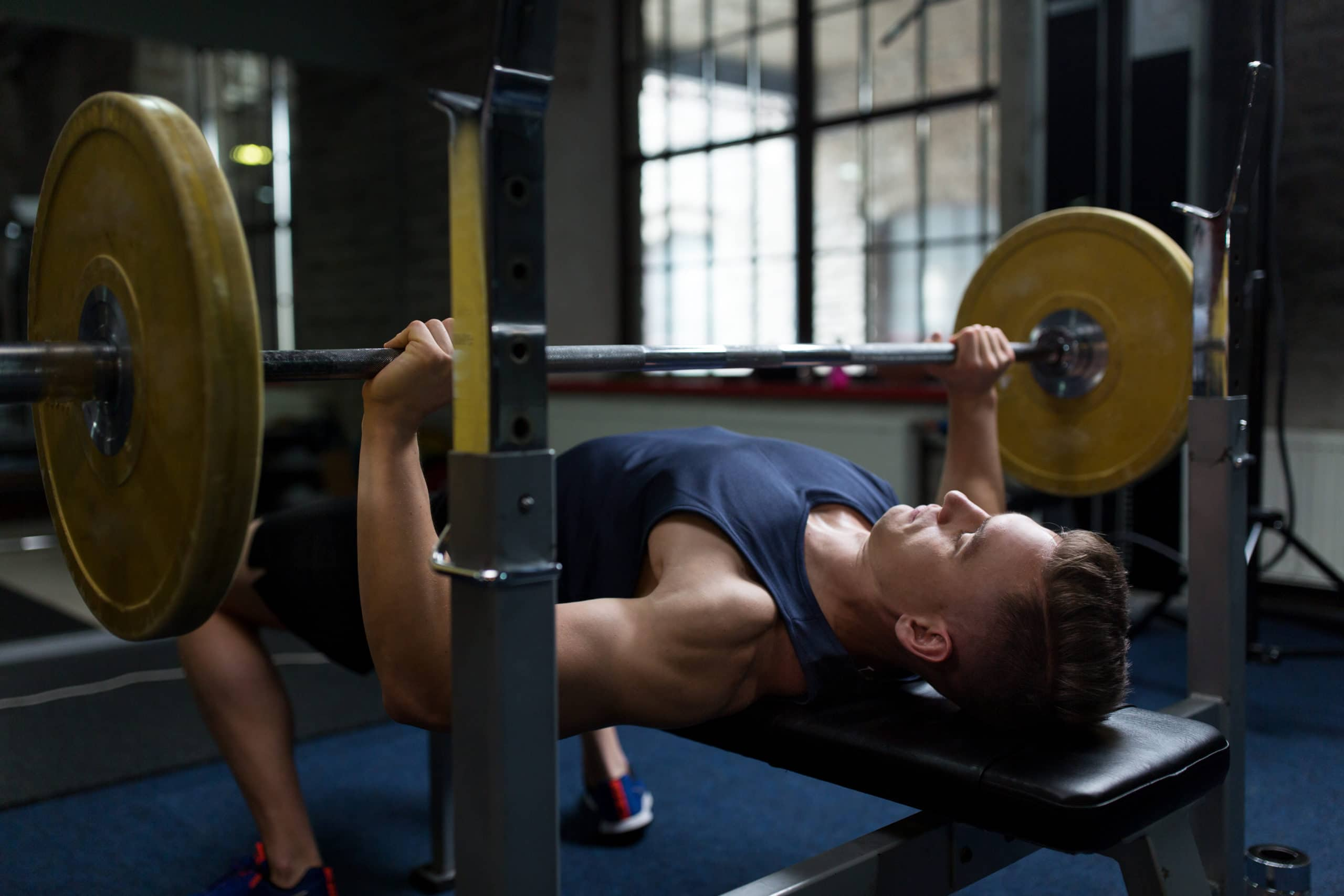 bench press range of motion specificity